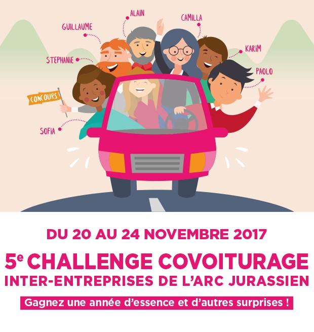 Challenge covoiturage 2017
